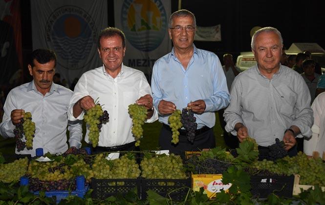Mersin Büyükşehir Belediye Başkanı Vahap Seçer, 3. Örtüaltı Üzüm Festivali'ne Katıldı
