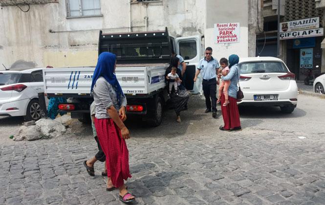 Mersin Tarsus'ta Dilenci Operasyonu
