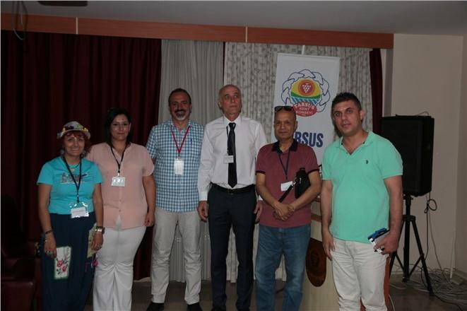 Tarsus Kent Konseyi Başkanlık Seçimleri Asutaylar İş Merkezinde Bulunan Güner Baykal Konfreans Salonunda Yapıldı.