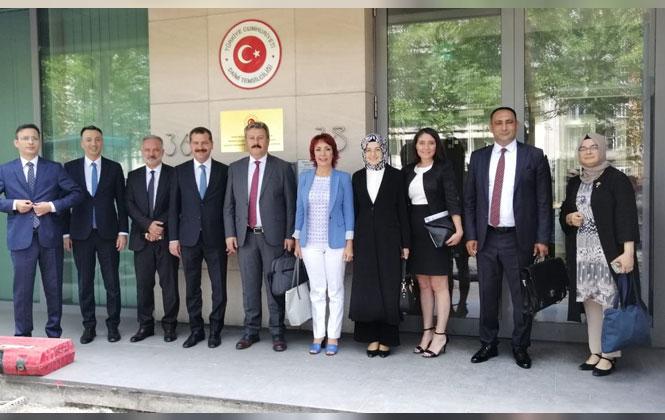 Başkan Yılmaz, Türkiye'yi Temsilen Brüksel'de