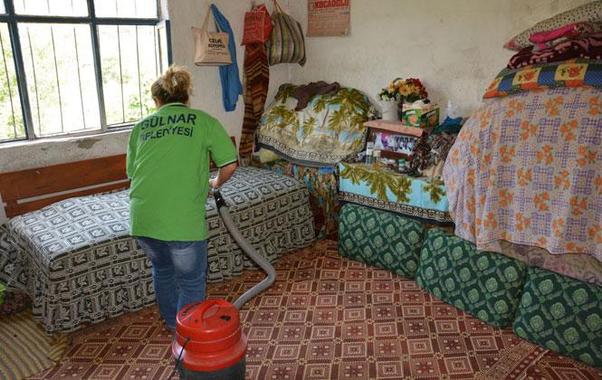 Gülnar Belediyesi Nar Çiçeği Projesi İle Yaşlı Bakım Hizmetlerine Devam Ediyor