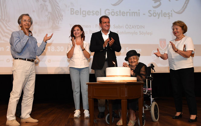 Mersin Büyükşehir Belediyesi'nden Cumhuriyet Kadını Muazzez İlmiye Çığ'ın 105. Yaşına Özel Kutlama