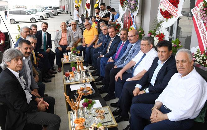 Mega Center Mersin'in Açılış Törenine Katıldı! Mersin'in Tarım, Ticaret, Sanayi ve Turizm Alanındaki Potansiyeli Değerlenecek