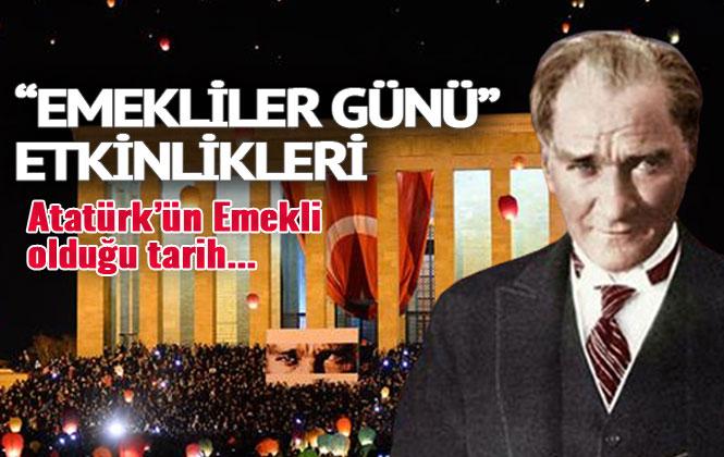 TÜED'den Etkinlik; Atatürk'un 30 Haziran 1927 Yılında Emekli Olduğunu Biliyor Muydunuz?