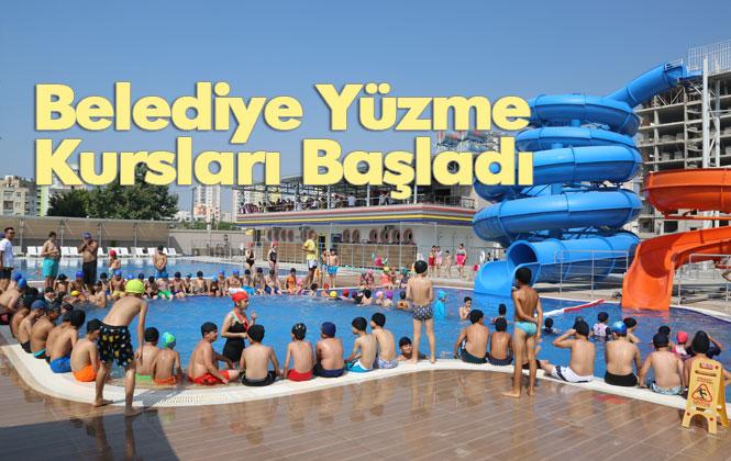 Mersin Belediye Yüzme Kursları Başladı, Erdemli Belediyesi Yüzme Geliştirme Kursları, Başladı