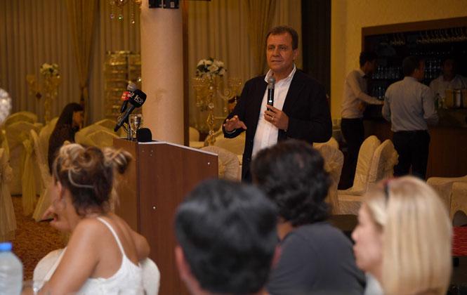 Başkan Seçer, Mersin'deki İş İnsanları İle Buluştu
