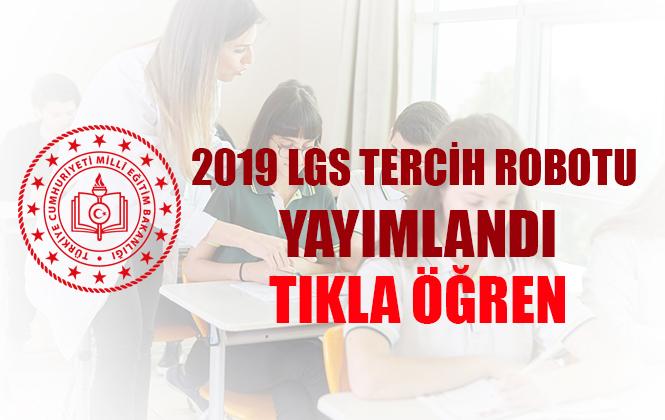 Milli Eğitim Bakanlığı 2019 LGS Tercih Robotu Yayınladı