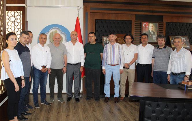 KÜSİ'den Tarsus Ticaret Borsasına Ziyaret