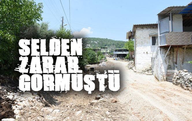 Mersin'in Tarsus İlçesi Çokak ve Çavuşlu Mahallelerinde Yaşanan Sel Felaketinin Yaraları Belediye Tarafından Sarıldı