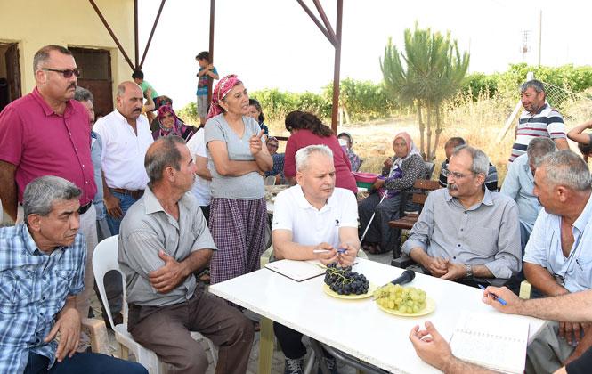 Başkan Bozdoğan, Kırsal Mahalle Ziyaretlerini Tamamladı