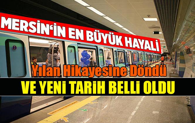 Mersin'de Metro Çalışmaları 2020'de Başlayacak