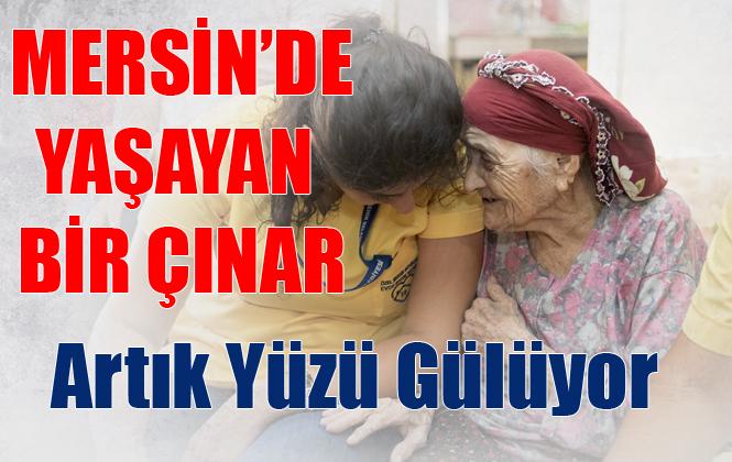 Mersin'de 110 Yaşındaki Fatma Teyze'nin Yüzü Artık Gülüyor