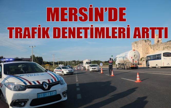 Mersin'de Trafik Denetimleri Artırıldı