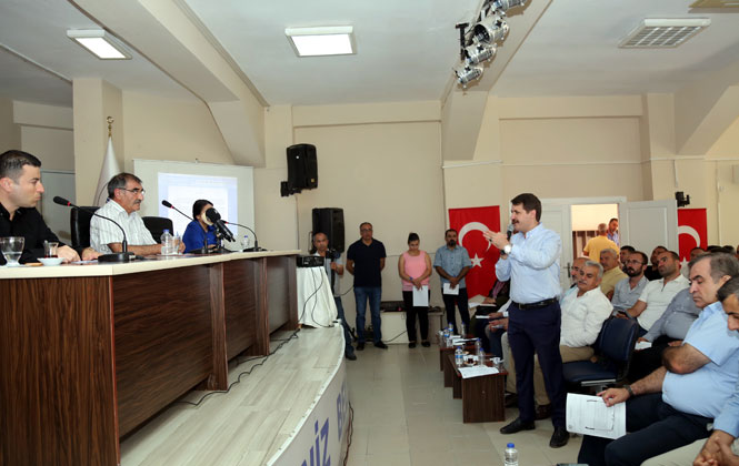 Akdeniz Belediye Meclisi, Çilek Mahalle Evi'nde Gerçekleşti