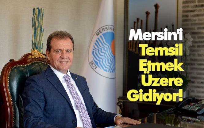 Mersin, Ürdün'de Temsil Edilecek! Mersin Büyükşehir Belediye Başkanı Vahap Başkan Seçer, Ürdün'e Gidiyor
