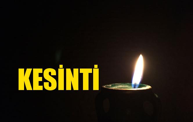 TARSUS Elektrik Kesintisi 08 Temmuz Pazartesi