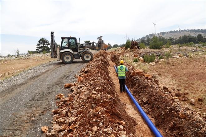Mersin'de Tırnak Mahallesi'nin İçme Suyu Sorunu Çözüldü