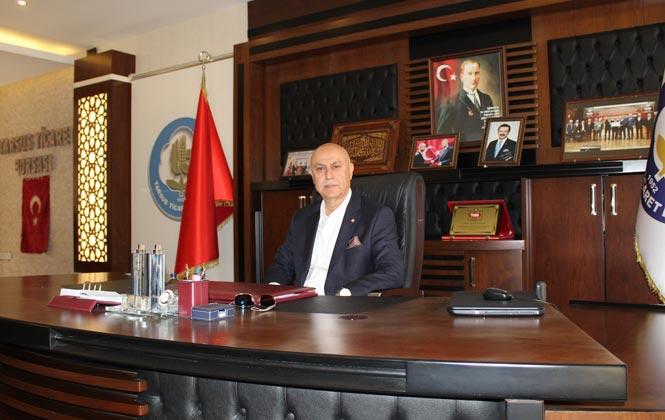 Tarsus Ticaret Borsası Yönetim Kurulu Başkanı Murat Kaya'dan 15 Temmuz Mesajı