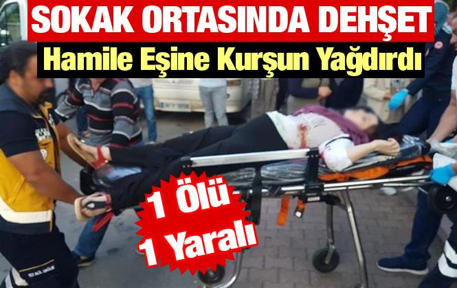 Kayseri'de Bir Kişi Hamile Eşine Kurşun Yağdırdı