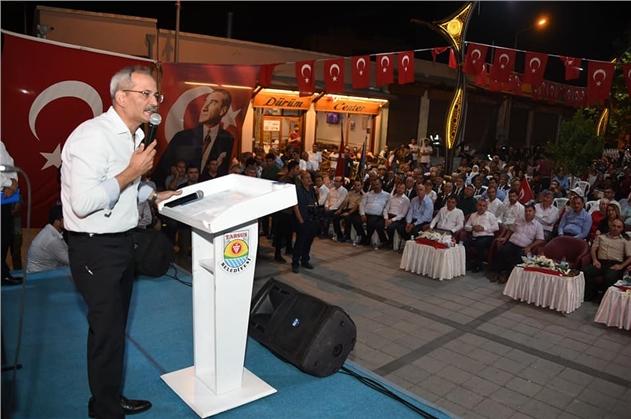 """Tarsus Belediye Başkanı Bozdoğan, """" 15 Temmuz Seçilmişlerin Değil, İnananların Zaferidir"""""""