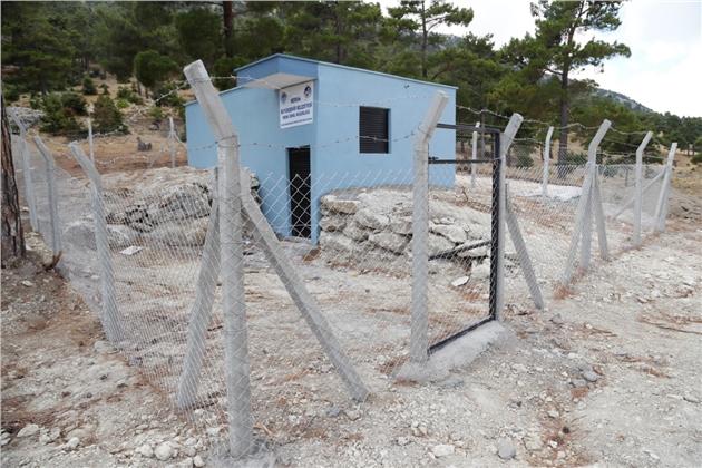 MESKİ, Gülnar'da İçme Suyu Depolarının Bakım ve Onarımını Yaptı