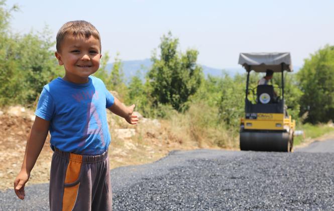 57 Yıllık Unutulmuş Yolu Erdemli Belediyesi Yeniden Hizmete Açtı