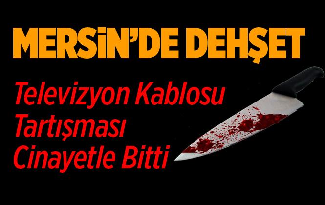 Mersin Erdemli'de Bir Kişi Amcasını Bıçaklayarak Öldürdü