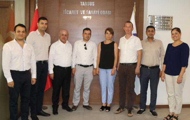 Silifke ve Mut Ticaret Odasından, Tarsus TSO'ya Kıyaslama Ziyareti