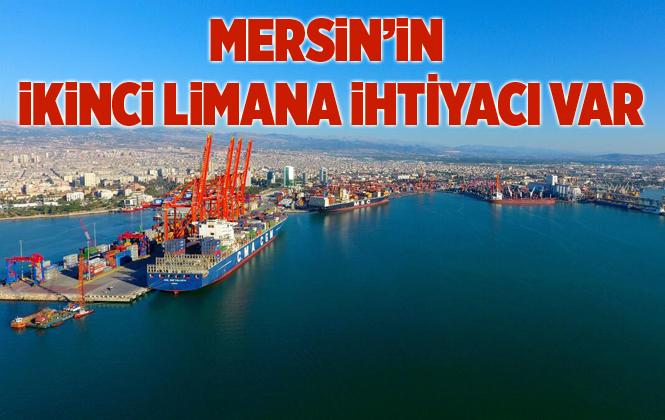 """Büyükşehir Belediye Başkanı Seçer """"Mersin'in İkinci Bir Limana İhtiyacı Var"""""""