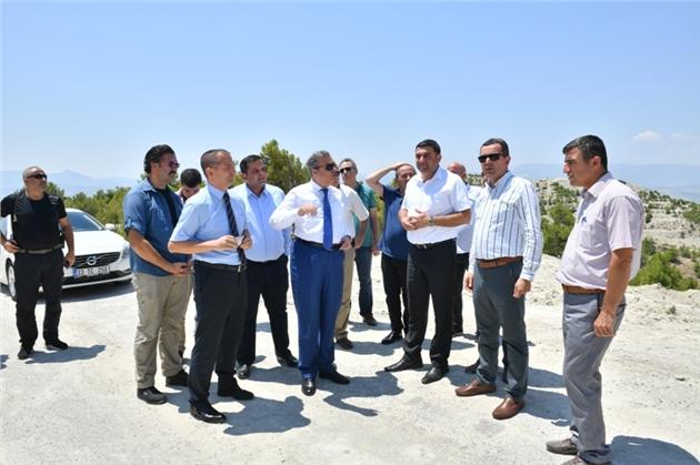 Mersin Valisi Ali İhsan Su, Mut İlçesi'ni Ziyaret Etti