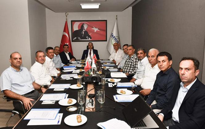 Tarsus Gıda İhtisas OSB Toplantısı Yapıldı