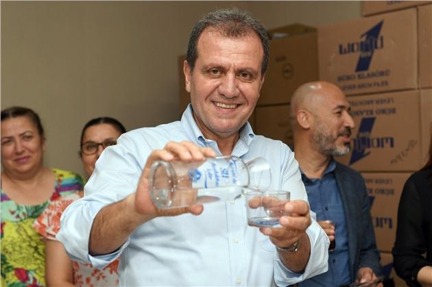 Başkan Seçer, Mersin'in Suyunu Analiz Etti