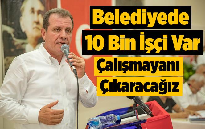 Başkan Seçer, CHP Tarsus İlçe Danışma Kurulunda Konuştu
