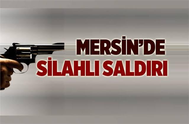 Mersin'de Silahlı Saldırı 3 Yaralı