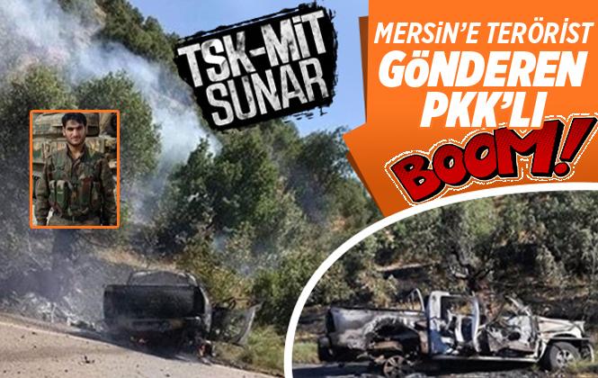 Mersin'e Terörist Gönderen PKK'lı Terörist Hacı Kurhan Öldürüldü