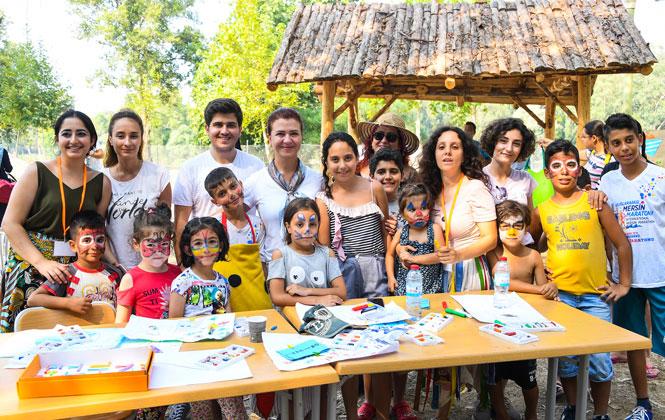 Mersin'de Çocuklar Eşit İmkanlarda Eğleniyor, Farklı Olanak ve Özelliklere Sahip Çocuklar Buluşuyor