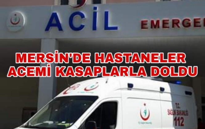 Mersin Tarsus'ta 65 Acemi Kasap Hastanelik Oldu