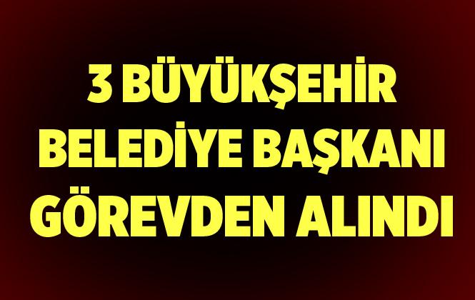 Diyarbakır, Van ve Mardin Büyükşehir Belediye Başkanları Görevden Uzaklaştırıldı