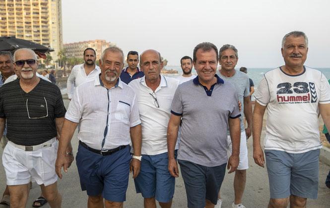 İki Büyük Kent Adana ve Mersin Belediye Başkanları Tömük Sahili'nde Bir Araya Geldi