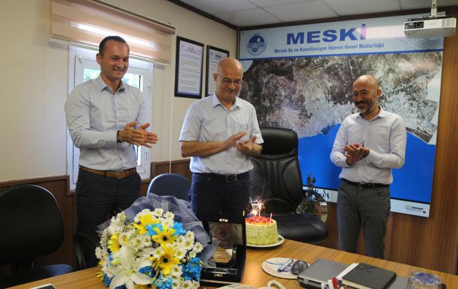 MESKİ'de Yönetim Kurulu Üyesi İsmail Demir Emekli Oldu