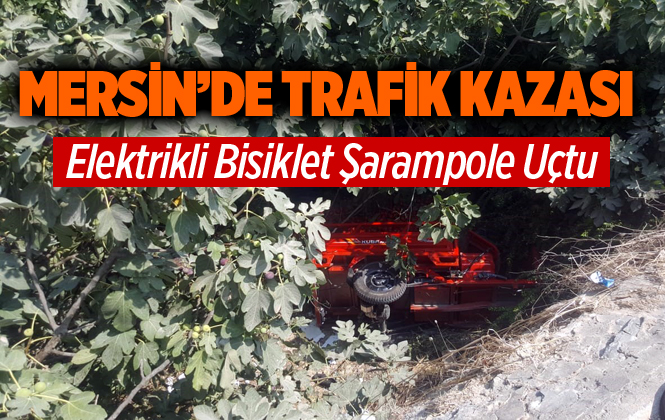 Mersin Tarsus'ta Kaza 1 Yaralı