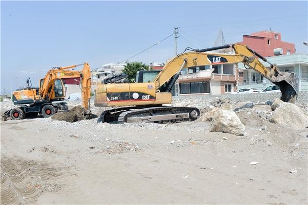 Mersin'in Doğu Sahilleri Yenileniyor