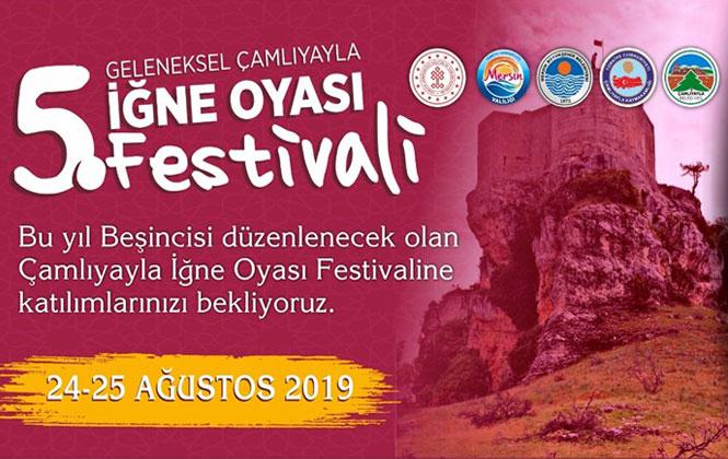 Çamlıyayla'da 5. İğne Oyası Festivali Yarın Başlıyor