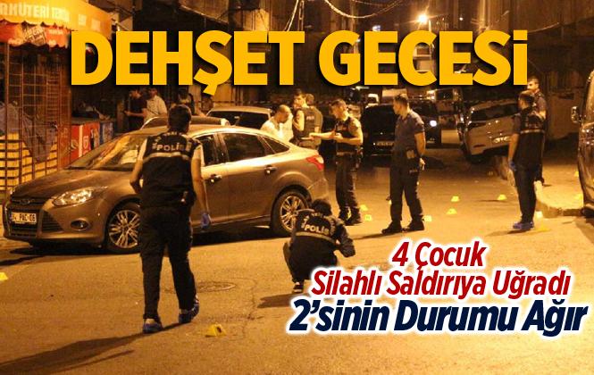 Mersin'de Tarsus'ta Silahlı Saldırıda 2'si Ağır 4 Çocuk Yaralıı
