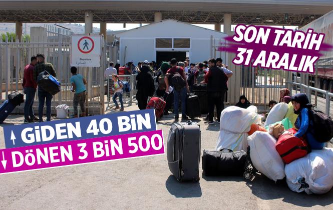 Bayramlaşma İçin Ülkelerine Dönen Suriyelilerin Türkiye'ye Dönüşü Devam Ediyor