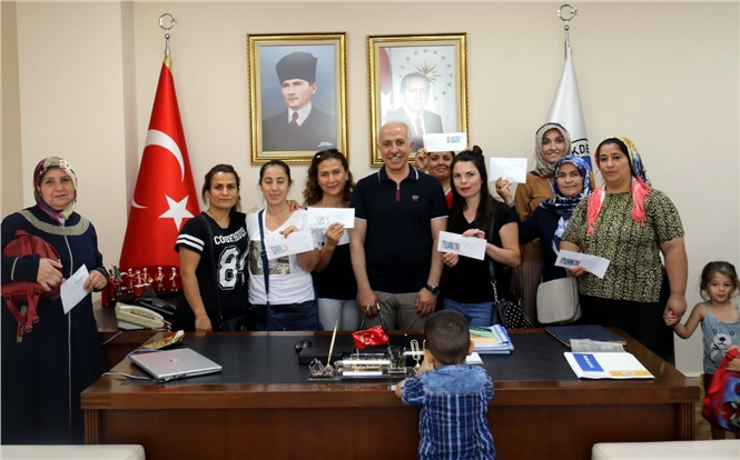 Akdeniz Belediyesinden Girişimci 16 Kadına 25 Bin Lira Kredi