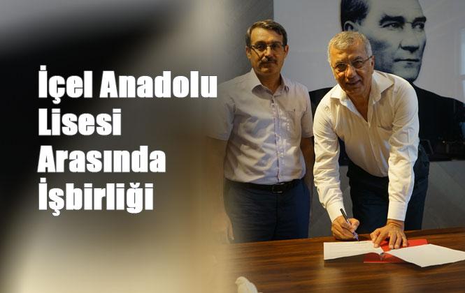 Mezitli Belediyesi ve İçel Anadolu Lisesi Arasında İşbirliği