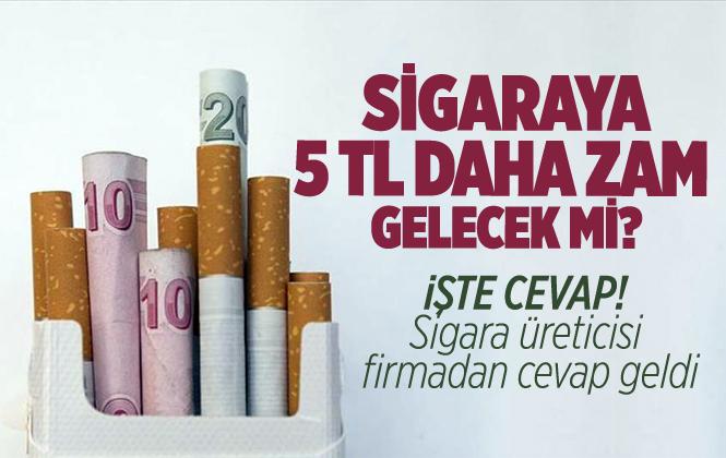 British American Tobacco Sigaraya 5 TL Zam Açıklaması