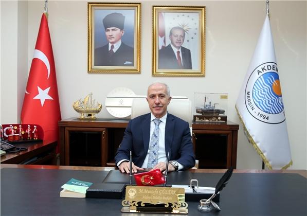 Akdeniz Belediye Başkanı Mustafa Gültak'tan 30 Ağustos Mesajı