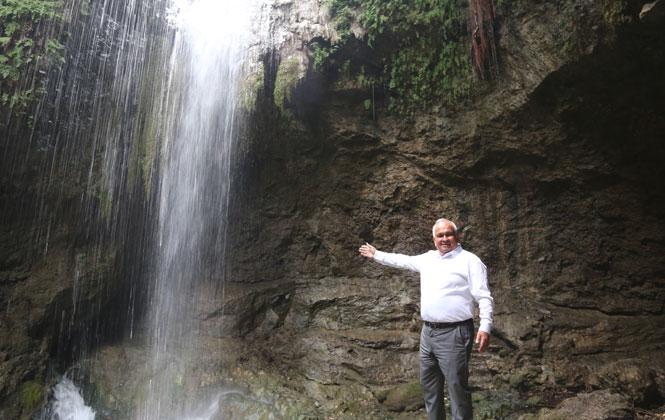 Başkan Tollu'dan Saklı Şelale'ye, Otopark ve Piknik Alanı Müjdesi
